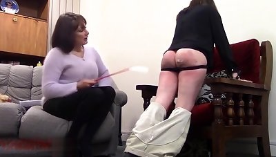 Home Discipline For A Naughty Girl