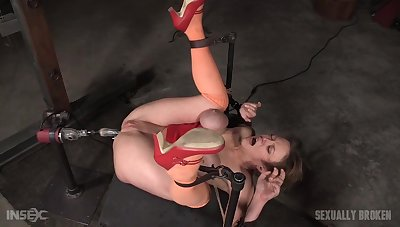Rough fuck machine oral be required of the submissive wife