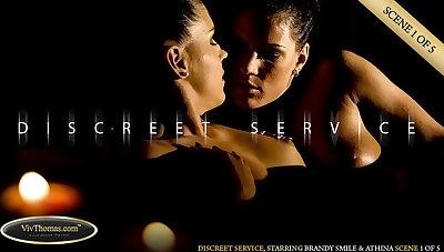Discreet Service Instalment 1 - Athina & Brandy Smile - VivThomas