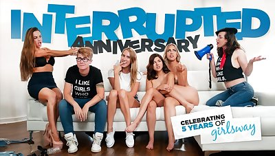 Shyla Jennings & Alina Lopez in Interrupted Anniversary, Chapter #01 - GirlsWay