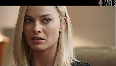 Eye catching Margot Robbie flashes so much meat in a hot off colour scene