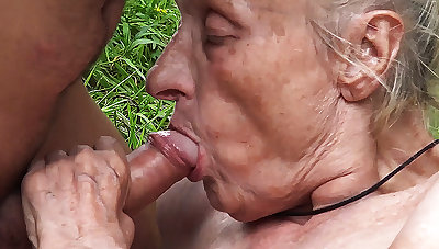 ugly 86 years old mommy public banged