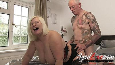 AgedLovE British Mature Lacy Starr Inexact Fuck