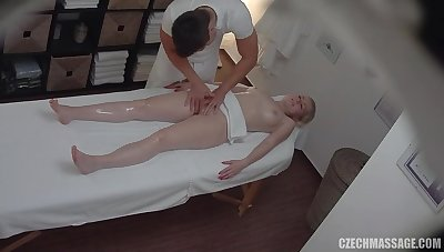 Nasty busty pet massage porn video