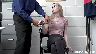 Con job girl Emma Starletto is punished by kinky affix guy