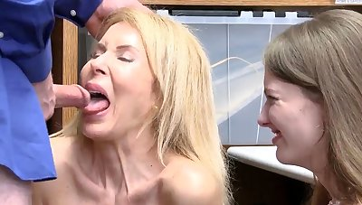 Office slut gangbang Suspects grandmother was called to