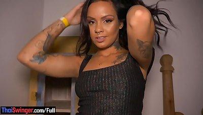 Hot Brazilian dabbler babe horny POV blowjob and sex on camera