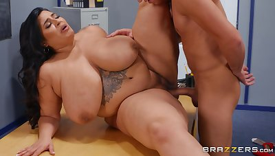 This young dick belongs in their way fat BBW ass