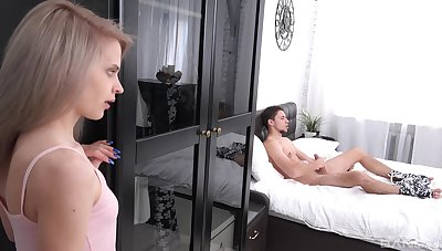 When Herde Wisky spies a forbidden large cock, she is right away horny