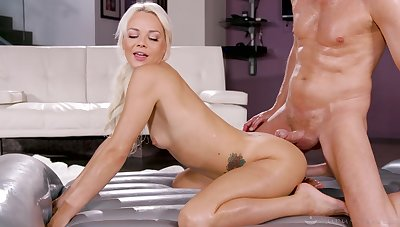 Nuru massage has the nicest ending with Elsa Jean in hold responsible for