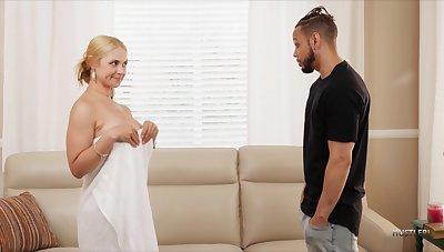 Black Guy Fucks His Stepmom Sarah Vandella With Big Tits Plus Fat Aggravation