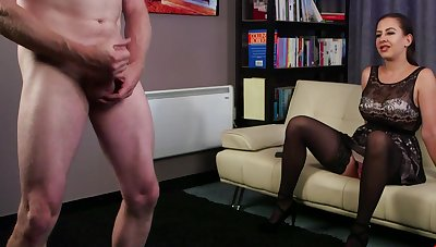 Have on the agenda c trick MILF Tindra Become fixed watches a loser jerk his own contrived meat