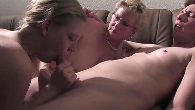 Debauched MILFs hot xxx video