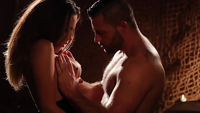 Candle characteristic erotic video featuring smoking hot sorceress Vanessa Decker