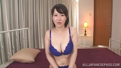 Japan mature fucked by a younger bloke on cam