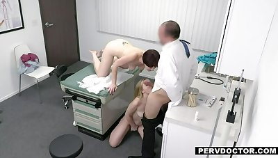 Dr. Baldy prescribes his Penis be advantageous to Blonde Teen