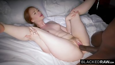 Euro Girl Finally Gets Here Try Out Mandingo With Ella Hughes