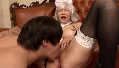 Korean Wife On Couch Amateur A